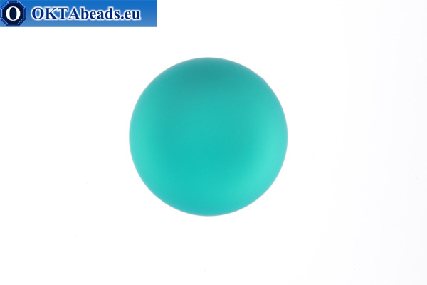 Lunasoft kabošon Blue Zircon 18mm