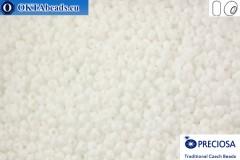 Preciosa český rokajl 1 jakost bílý (03050) 10/0, 50g