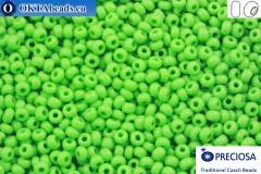 Preciosa český rokajl 1 jakost zelený (53210) 9/0, 50g