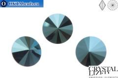 1122 SWAROVSKI Rivoli Chaton - Crystal Metallic Blue 14мм, 1шт