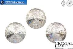 1122 SWAROVSKI Rivoli Chaton - Crystal Silver Patina 12мм, 1шт