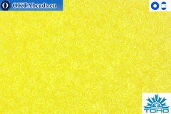 TOHO Beads Transparent Lemon (12) 15/0