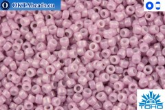 TOHO Beads Opaque-Lustered Pale Mauve (127) 15/0