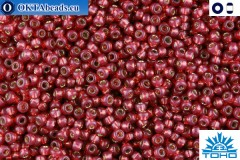 TOHO Beads Silver-Lined Milky Pomegranate (2113) 15/0