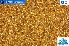 TOHO Beads Silver-Lined Med Topaz (22B) 11/0