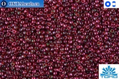 TOHO Beads Gold-Lustered Raspberry (332) 15/0