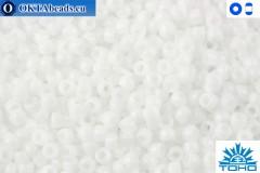 TOHO Beads Opaque White (41) 11/0