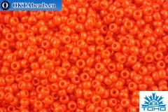 TOHO Beads Round Opaque Sunset Orange(50) 11/0