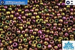 TOHO Beads Higher-Metallic Purple/Green Iris (509) 11/0