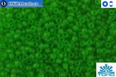 TOHO Beads Transparent-Frosted Peridot (7F) 11/0