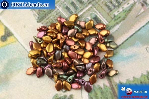 Gekko Beads iris metallic matte (01640) 3x5mm, 5g MK0473