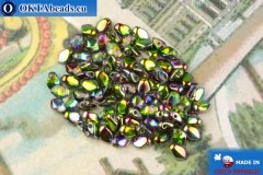 Бусины Гекко кристалл витраил (00030/95000) 3х5мм, 5гр