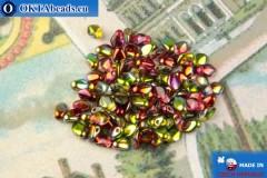 Бусины Гекко кристалл витраил (00030/95600) 3х5мм, 5гр