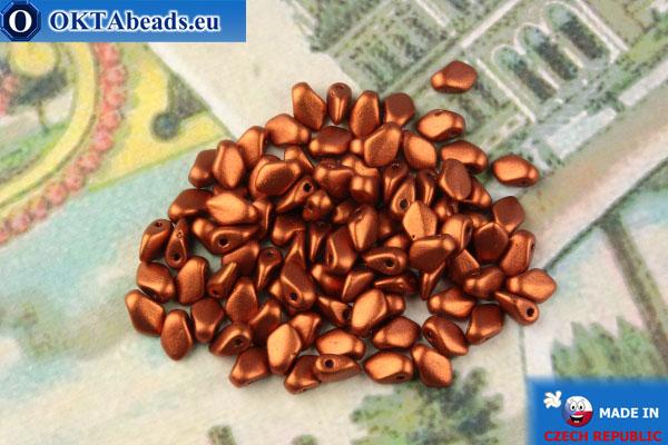 Gekko Beads copper metallic matte (01750) 3x5mm, 5g MK0476