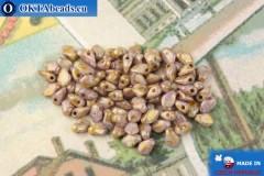 Gekko Korálky růžový zlatý lesk (03000/15695) 3x5mm, 5g