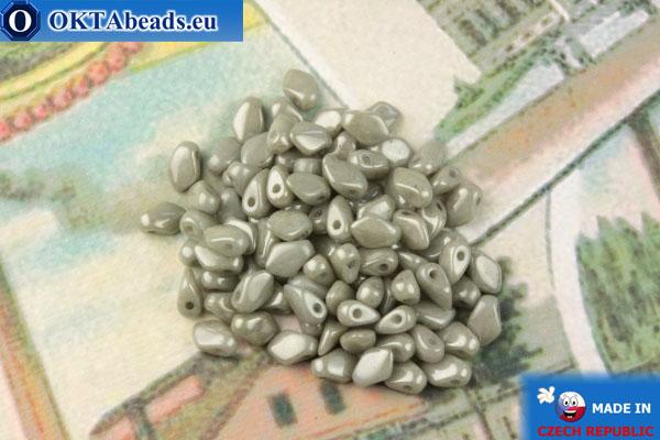 Бусины Гекко серый глянцевый (03000/14449) 3х5мм, 5гр MK0470