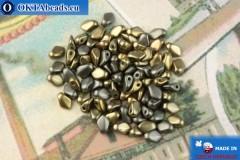 Gekko Beads grey iris matte (01670) 3x5mm, 5g
