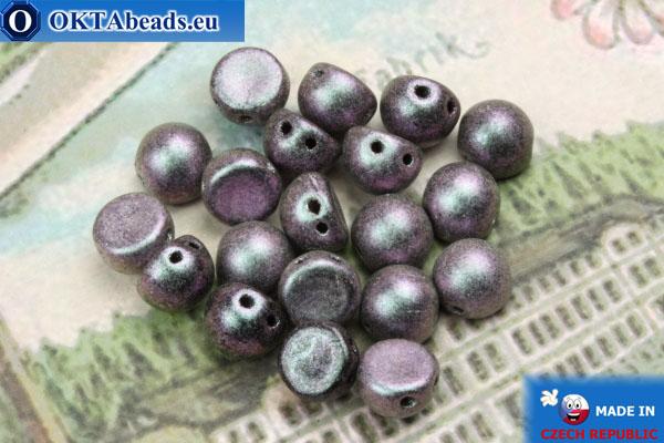 Cabochon Beads lilac matte (94102JT) 6mm, 20pc