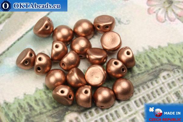 Бусины Кабошон медь матовые (K0178JT) 6мм, 20шт MK0359