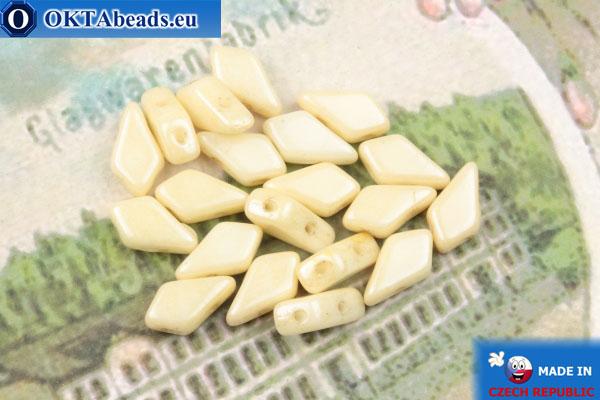 Kite Beads beige luster (03000/14413) 9x5mm, 20pc MK0556