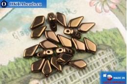Korálky Kite bronz (23980/14415) 9x5mm, 20ks MK0561