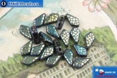 Kite Beads black iris (23980/28703SS) 9x5mm, 20pc MK0562