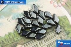 Kite Beads hematite (23980/14400) 9x5mm, 20pc MK0560