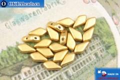 Бусины Кайт золото матовые (00030/01710) 9х5мм, 20шт, MK0554