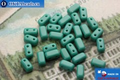 Bricks Beads turquoise (63150) 3x6mm, 30pc