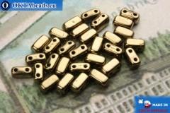 Bricks Korálky bronz (B23980) 3x6mm, 30ks