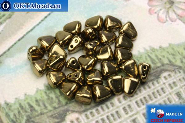 Бусины NIB-BIT бронза (B23980) 6х5мм, 30шт MK0371