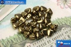 NIB-BIT Beads bronze (B23980) 6x5mm, 30pc MK0371