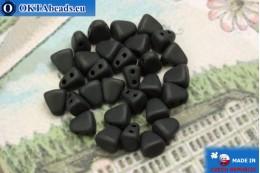 NIB-BIT Beads black matte (M23980) 6x5mm, 30pc MK0377