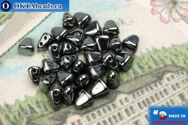 NIB-BIT Beads hematite (L23980) 6x5mm, 30pc MK0372