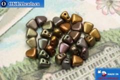 NIB-BIT Beads iris matte (K0164) 6x5mm, 30pc