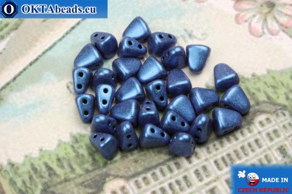 Бусины NIB-BIT синие (79031MJT) 6х5мм, 30шт MK0391