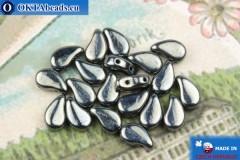 Бусины Пейсли гематит (23980/14400) 8х5мм, 20шт, MK0579