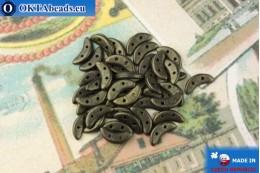 Crescent Korálky bronz metalíza matný (79082MJT) 3x10mm, 5g MK0436