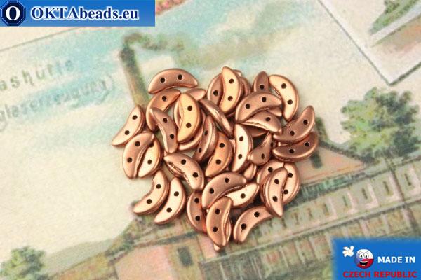 Crescent Beads gold matte (K0178) 3x10mm, 5g MK0429