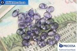 Preciosa PIP Beads lilac (20500) 5x7mm, 30pc MK0313