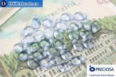 Preciosa PIP Beads blue (30020) 5x7mm, 30pc