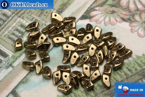 Бусины Пронг бронза (B23980) 3х6мм5гр MK0289