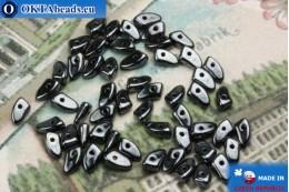 Prong Beads hematite (L23980) 3x6mm5g MK0293