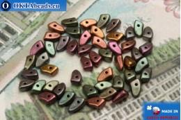Prong Beads metallic iris matte (K0164) 3x6mm5g MK0295