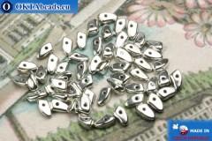Бусины Пронг серебро (27000CR) 3х6мм5гр
