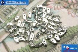 Бусины Пронг серебро (27000CR) 3х6мм5гр MK0284