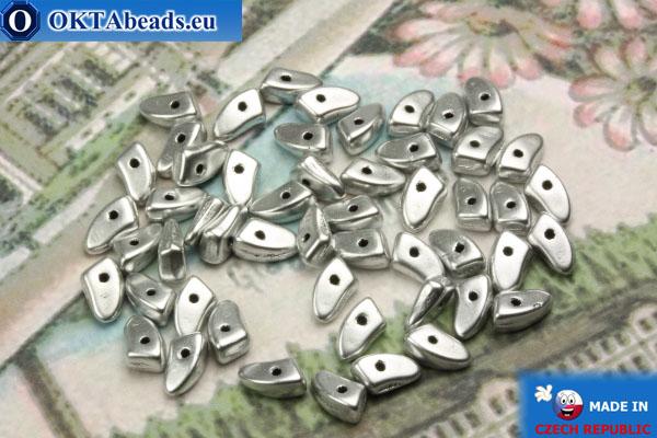 Prong Korálky stříbro matný (K0170JT) 3x6mm5g