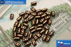 Rulla Beads bronze (LZ23980) 3x5mm, 5g