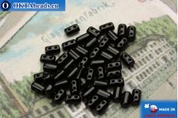 Бусины Рулла черные (23980) 3х5мм, 5гр MK0242