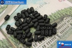 Rulla Beads black matte (M23980) 3x5mm, 5g MK0245